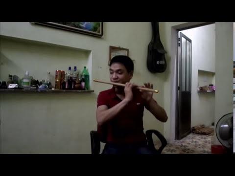 Chào em cô gái Lam Hồng (Sáo trúc C5 ) - Huy Hiệu