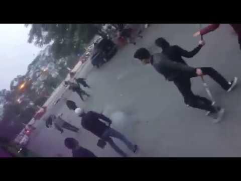 Biến căng chém nhau kinh hoàng gây chết người tại Hà Nội