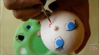 Manualidad: Cómo Hacer Una Cabeza De Muñeca Con
