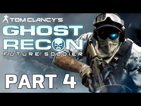 Ghost Recon: Future Soldier Gameplay Walkthrough Part 4 (HD 1080p)