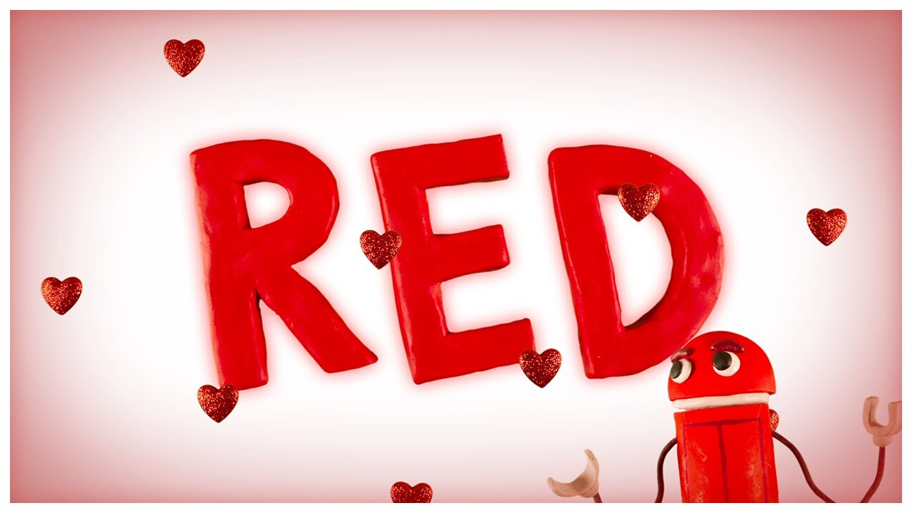 """""""Love is Red,"""" Songs About Colors by StoryBots - YouTube"""