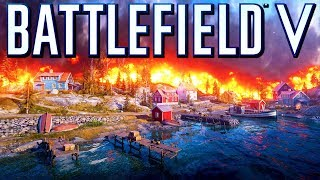 Battlefield 5 Firestorm! TheBrokenMachine's Chillstream 60 fps multiplayer Gameplay