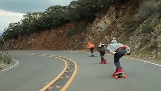 Chasing Skaters Down Stunt