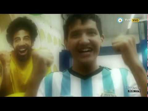 De Zurda -n°17- Victoria Argentina ante Nigeria y un cierre a pura garganta (parte 4 / 4) 25-06-2014