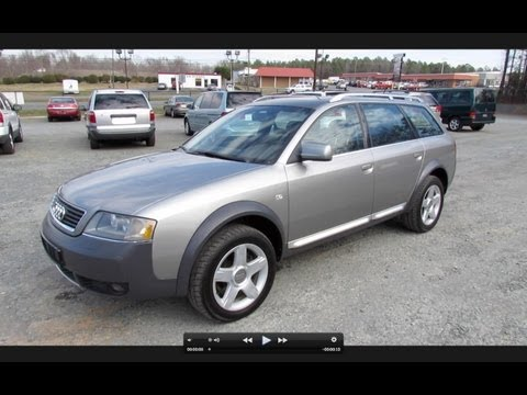 2003 Audi Allroad Quattro BiTurbo Start Up, Exhaust, and In Depth Review