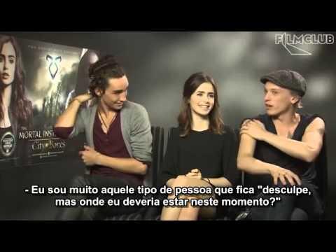 Filmclub entrevista Lily Collins, Jamie Campbell Bower e Robert Sheehan