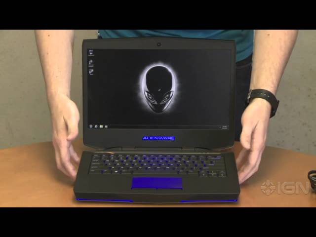 Alienware 14 Gaming Laptop Unboxing Video