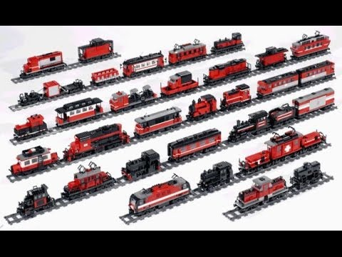 レゴ  トレイン  Build with Chrome - How To Make Lego Train (레고 기차 만들기)