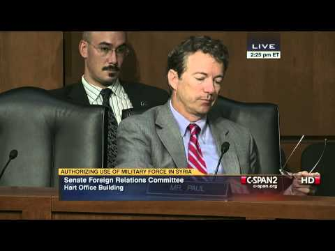 Sen. Tim Kaine (D-VA) & Sen. Rand Paul (R-KY) on Possible Syria Filibuster (C-SPAN)