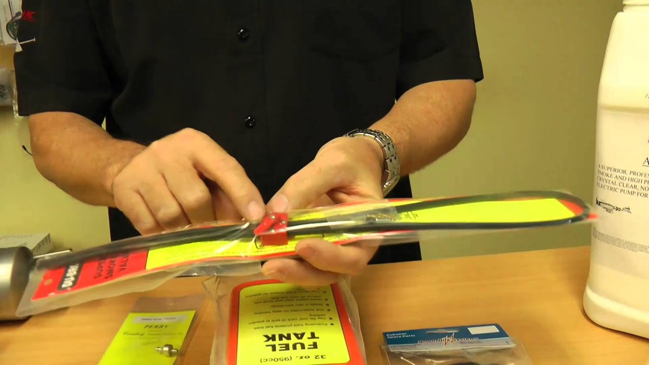 Setting up your Gas RC Plane for Smoke - YouTube