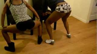 Girls Twerking All Clothes On Off