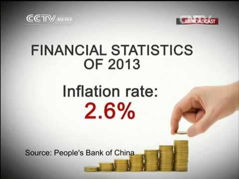 China's central bank: China's inflation rate: 2.6%, below 3.5% target
