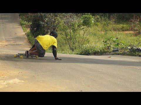 Skate Downhill ES - Cemitério - Luís Souza e Fernando Rubim Downhill sony alpha 37