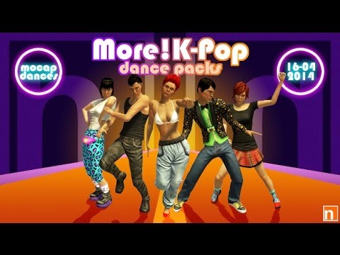 nDreams More! K-Pop Dance Packs -- PlayStation®Home‏