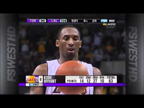 Kobe Bryant 81 Points Game Highlights