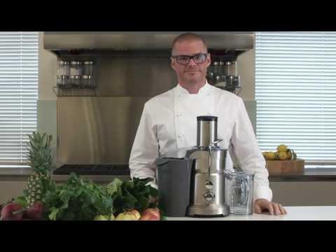 Sage BJE410UK Nutri Juicer, Silver