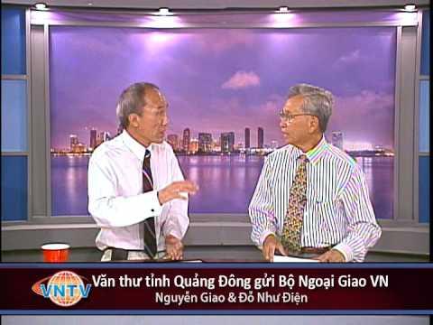 VNTV Thời Sự Hàng Tuần: Văn thư tỉnh Quảng Đông gửi bộ ngoại giao VN
