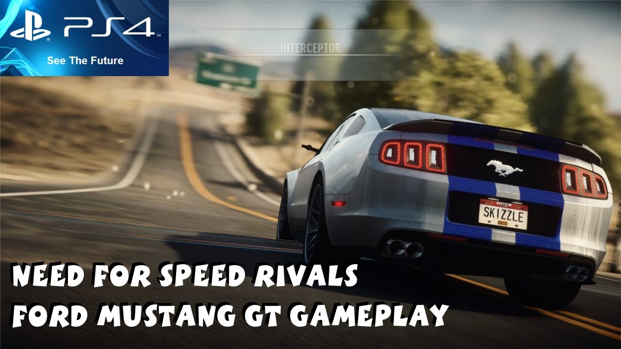 need for speed rivals ps4 gameplay 1080p ford mustang gt gameplay youtube. Black Bedroom Furniture Sets. Home Design Ideas