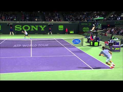 Nishikori KO's Federer In Miami