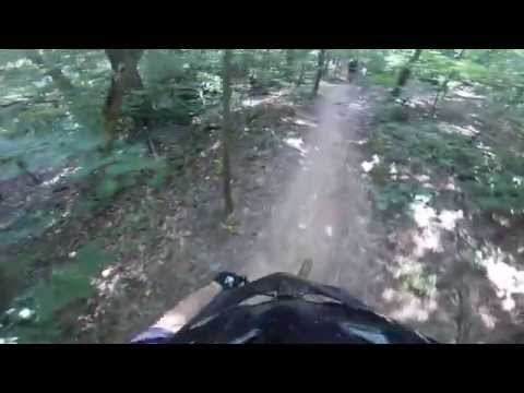 Blankets Creek Mountain Bike - 3 falls in 12 mins