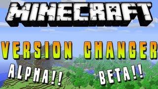 Minecraft 1.7.2 Como Instalar Minecraft Version Changer