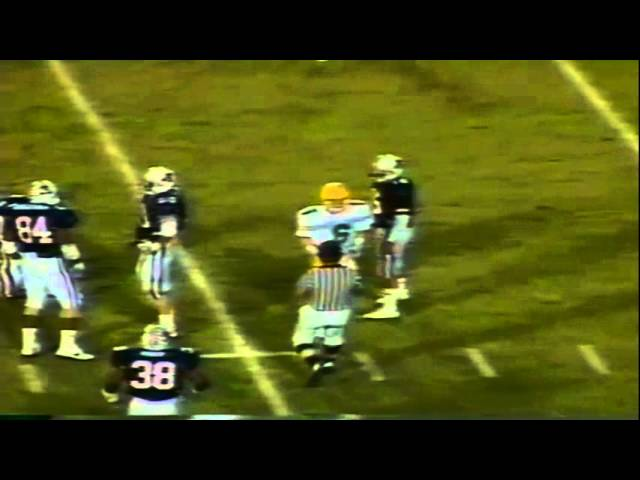 Oregon WR Joe Reitzug 19 yard reception vs. Arizona 11-12-1988