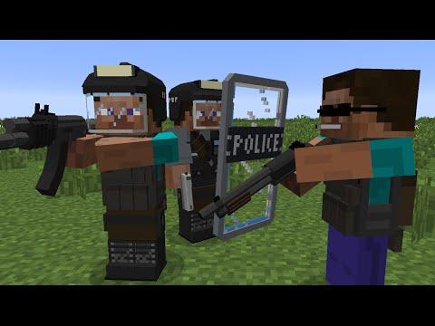 Minecraft 152 — С установленным модом Flan's