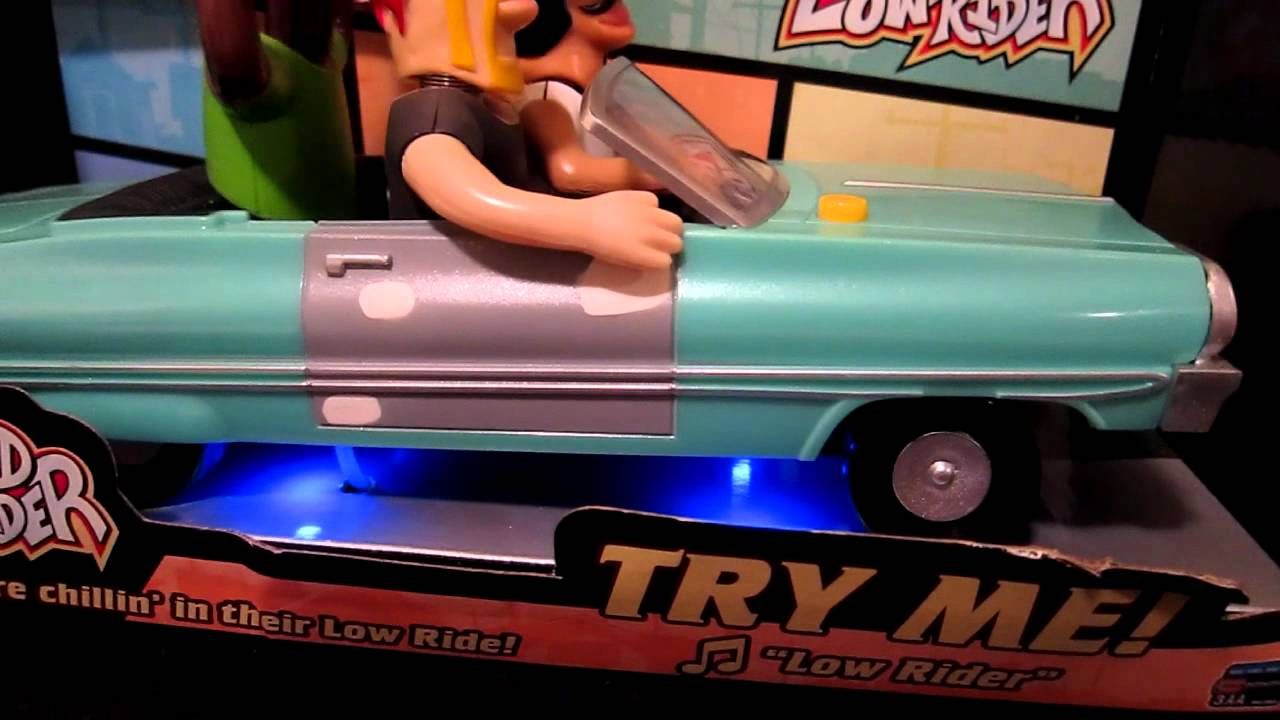 Animated Lowrider Car Toy - Bobbleheads, car carriage ...