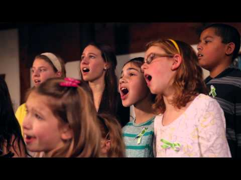 "Newtown Students sing ""Over the Rainbow"" Music Video"