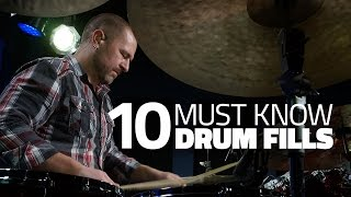 10 Drum Fills Every Drummer Should Know