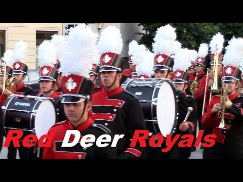 Red Deer Royals Marching Show Band in Italy