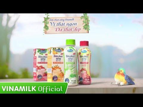 Quảng cáo Vinamilk - Sữa chua uống Vinamilk Nha đam mới – Vị thật ngon, da thật đẹp