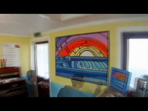 Gopro speedpainting..touch of Hawaii on hayling island