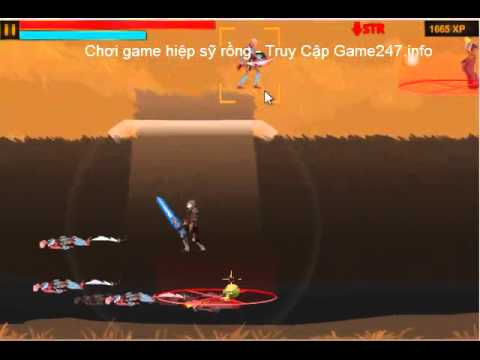 Chơi game hiệp sĩ sỹ rồng, Video hướng dẫn chơi game hiệp sỹ rồng