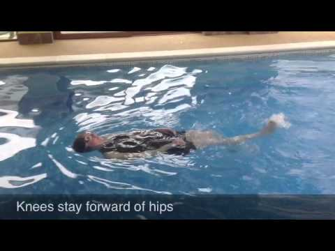 Swimming Without Stress: Front Crawl Kick Tips