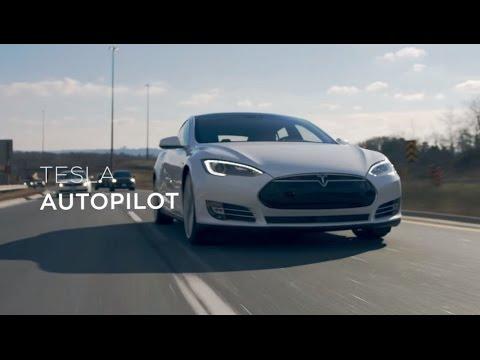De casa a la oficina en Tesla con vehículo autónomo