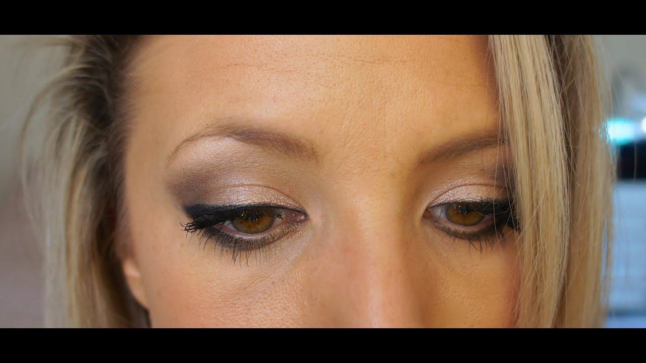 Gray Smokey Eye | UD NAKED2 Palette - YouTube