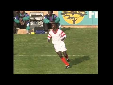 Zambia 1 South Africa 0  1992 Africa Nations Cup. Johannesburg