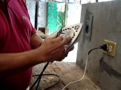 Como reparar una plancha electrica de vapor black and for Como instalar una terma electrica