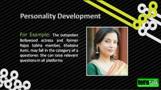 Personality Development Techniques Www.letstalk.co.in