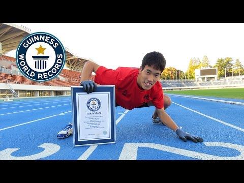 Запознајте го Кацуми Тамакоши, светскиот рекордер во трчање на 100 метри на сите 4, како животно