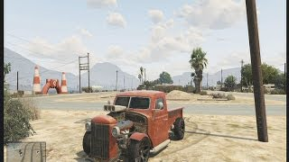 GTA 5 Grand Theft Auto 5 Rare Hot Rod Car (German) How