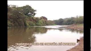 Transposi��o do Rio Paraopeba para o Rio Manso s� deve ser conclu�da no fim do ano