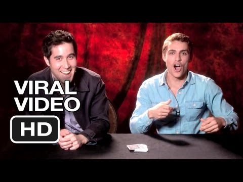 Now You See Me Viral Video -  Dave Franco: Art of Card Throwing (2013) - Jesse Eisenberg Movie HD