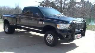 2007 DODGE RAM 3500 LARAMIE 4X4 CUMMINS DIESEL FOR SALE