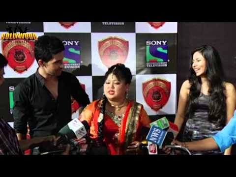 Comedian Bharti Singh at the Red Carpet of : CID Veerta Awards 2013