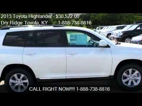 2013 Toyota Highlander Plus - for sale in Dry Ridge, KY 4103