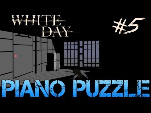 White Day: A Labyrinth Named School - Gameplay Walkthrough Part 5 - PIANO PUZZLE