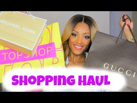 Shopping HAUL & Try On: Topshop, Michael Kors, F21 & More