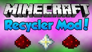 Minecraft: Recycler Mod [1.5.1]!